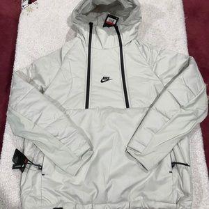 Nike tech insulated anorak jacket